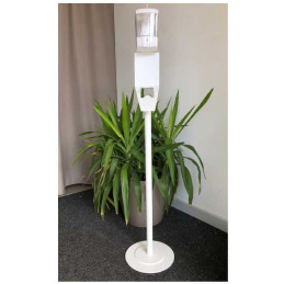 PIANTANA SESIA con dispenser con sensore no-touch bianco