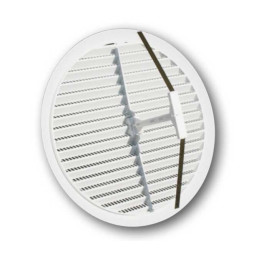 Griglia bianca plastica rigida in ABS (2 misure)