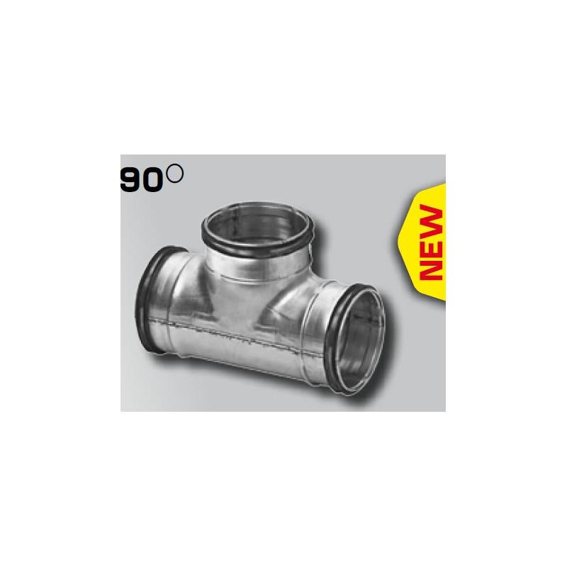 TE acciaio zincato 80mm