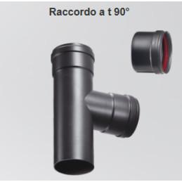 TE 80 - 100 inox nero con bicch. raccogli condensa