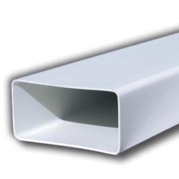 Tubo cappa rettangolare 1,5 mt bianco pvc