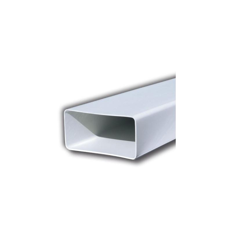 Tubo rettangolare 1,5 mt bianco 60x120 o 60x200 pvc