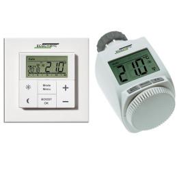 Kit Testina termostatica digitale Ecodhome TTD150+TTD 2000