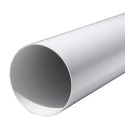 Tubo PVC tondo 1,5 mt colore bianco d.100 e 125