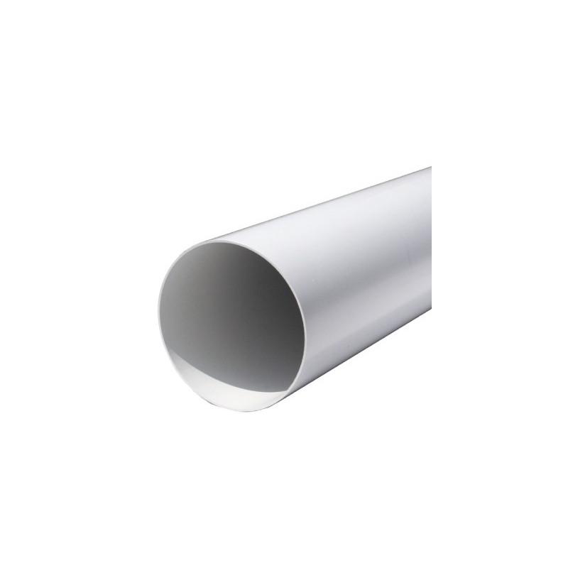 Tubo tondo pvc bianco for Collegamento del tubo di rame al pvc