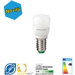 ED E14 2 W luce calda Peretta