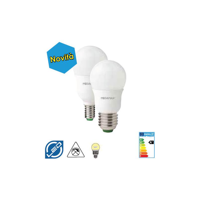 ED E14 5 W luce calda Standard