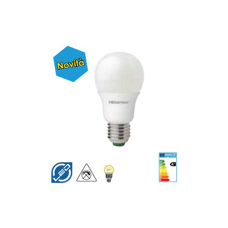 ED E27 5 W luce calda Standard