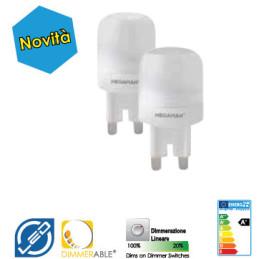 LED G9 3 W luce calda