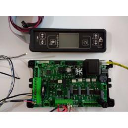 """Kit scheda elettronica, display e cablaggi Micronova per stufe """"senza encoder"""" PALLADIO e compatibili"""