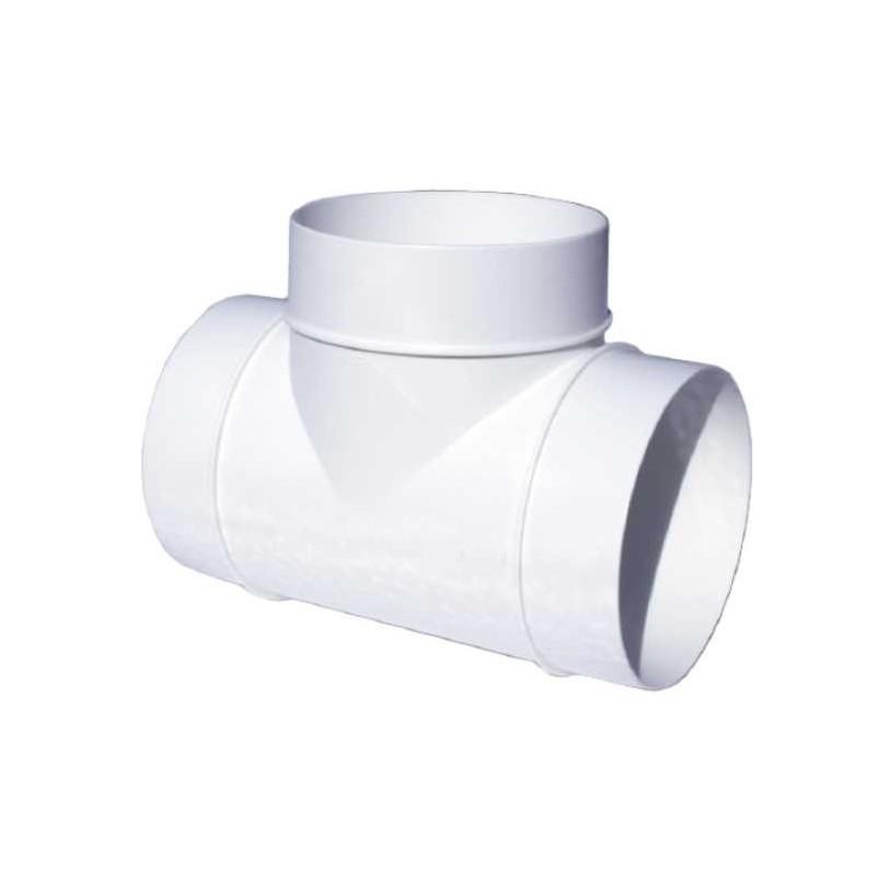 Derivazione a T 90° bianco in pvc DTP